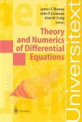 Theory and Numerics of Differential Equations Durham 2000