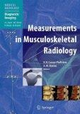 Measurements in Musculoskeletal Radiology (Medical Radiology / Diagnostic Imaging)