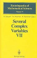 Several Complex Variables, Vol. 7 - T. Peternell - Hardcover