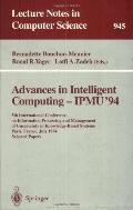 Advances in Intelligent Computing-Ipmu '94 5th International Conference on Information Proce...