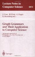 Graph Grammars and Their Application to Computer Science 5th International Workshop, William...