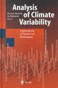 Analysis of Climate Variability Applications of Statistical Techniques  Proceedings of an Au...