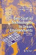 Geo-spatial Technologies in Urban Environments Policy, Practice and Pixels