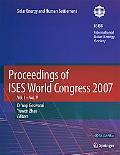 Proceedings of ISES World Congress 2007 (Vol.1-Vol.5): Solar Energy and Human Settlement (v....