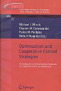 Optimization and Cooperative Control Strategies: Proceedings of the 8th International Confer...