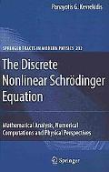 The Discrete Nonlinear Schrdinger Equation: Mathematical Analysis, Numerical Computations an...