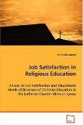 Job Satisfaction In Religious Education