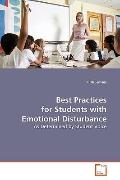 Best Practices For Students With Emotional Disturbance