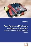 Two Essays on Maximum Likelihood Estimation: Dynamic Stochastic General Equilibrium Models