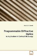 Programmable Diffractive Optics: Its Applications in Confocal Microscopy