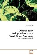 Central Bank Independence in a Small Open Economy: The Case of Seychelles