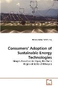 Consumers' Adoption of Sustainable Energy Technologies