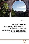 Perspectives on Linguistics, Tafl and Tefl