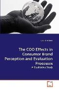 Coo Effects in Consumer Brand Perception and Evaluation Processes