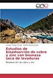 Estudios de bioadsorción de cobre y zinc con biomasa seca de levaduras: Bioadsorción de cobr...