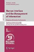 Human Interface and the Management of Information. Designing Information Environments: Sympo...