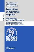 Foundations of Augmented Cognition. Neuroergonomics and Operational Neuroscience: 5th Intern...