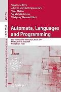 Automata, Languages and Programming: 36th International Colloquium, ICALP 2009, Rhodes, Gree...