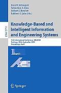Knowledge-Based and Intelligent Information and Engineering Systems: 13th International Conf...