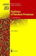 Statistics of Random Processes: II. Applications (Stochastic Modelling and Applied Probability)