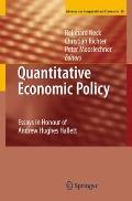 Quantitative Economic Policy : Essays in Honour of Andrew Hughes Hallett