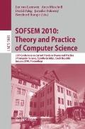 SOFSEM 2010: Theory and Practice of Computer Science: 36th Conference on Current Trends in T...