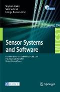 Sensor Systems and Software: First International ICST Conference, S-CUBE 2009, Pisa, Italy, ...