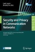 Security and Privacy in Communication Networks : 6th International ICST Conference, SecureCo...