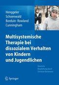 Multisystemische Therapie bei dissozialem Verhalten von Kindern und Jugendlichen (German Edi...