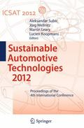 Sustainable Automotive Technologies 2012 : Proceedings of the 4th International Conference