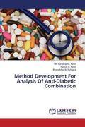 Method Development for Analysis of Anti-Diabetic Combination