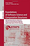 Foundations of Software Science and Computation Structures: 20th International Conference, F...