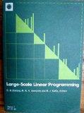 Large-Scale Linear Programming: Proceedings of a IIASA workshop, 2-6 June 1980