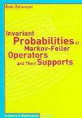 Invariant Probabilities Of Markov-feller Operators And Their Supports