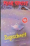 Zugeschneit. Rote Tinte auf weißem Schnee. ( Ab 12 J.).