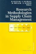 Research Methodologies in Supply Chain Management In Collaboration with Magnus Westhaus