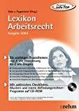 Lexikon Arbeitsrecht 2003.