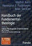 Handbuch der Fundamentaltheologie, 4 Bde., Bd.4, Traktat Theologische Erkenntnislehre