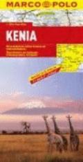Kenya Marco Polo Map (Marco Polo Maps)