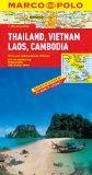 Thailand, Vietnam, Laos, Cambodia Marco Polo Map (Marco Polo Maps)