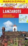 Lanzarote Marco Polo Holiday Map (Spain)
