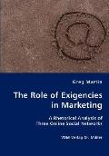 The Role Of Exigencies In Marketing - A Rhetorical Analysis Of Three Online Social Networks