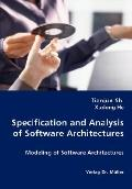 Specification And Analysis Of Software Architectures