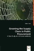 Greening the Supply Chain in Public Procurement