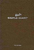 Keels Simple Diary I Brown