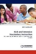 Rich and Intensive Vocabulary Instruction