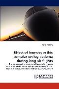 Effect of Homoeopathic Complex on Leg Oedema During Long Air Flights