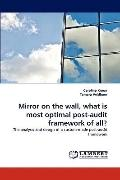 Mirror on the Wall, What Is Most Optimal Post-Audit Framework of All?
