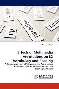 Effects of Multimedia Annotations on L2 Vocabulary and Reading