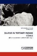 Sulfur in Tertiary Indian Coals